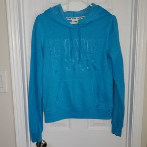 Pink by VS Soft Comfy Bright Blue Hoodie